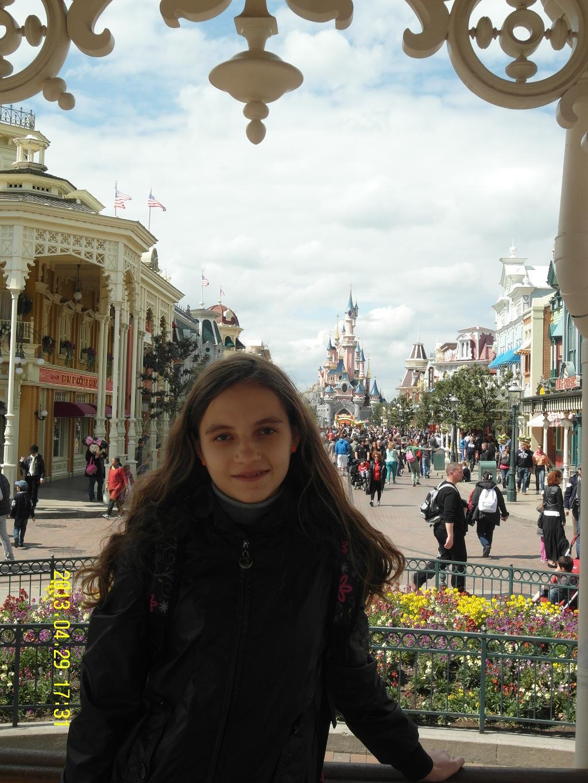 Франция. Париж. Диснейленд.. Город моей мечты