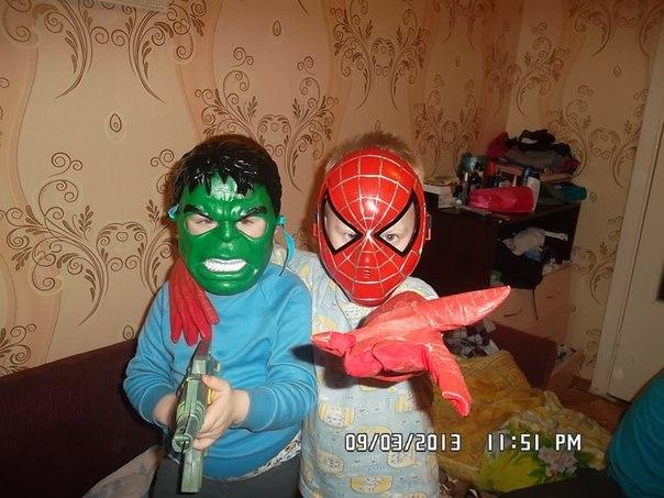 Супер герои!!!. Настоящие друзья