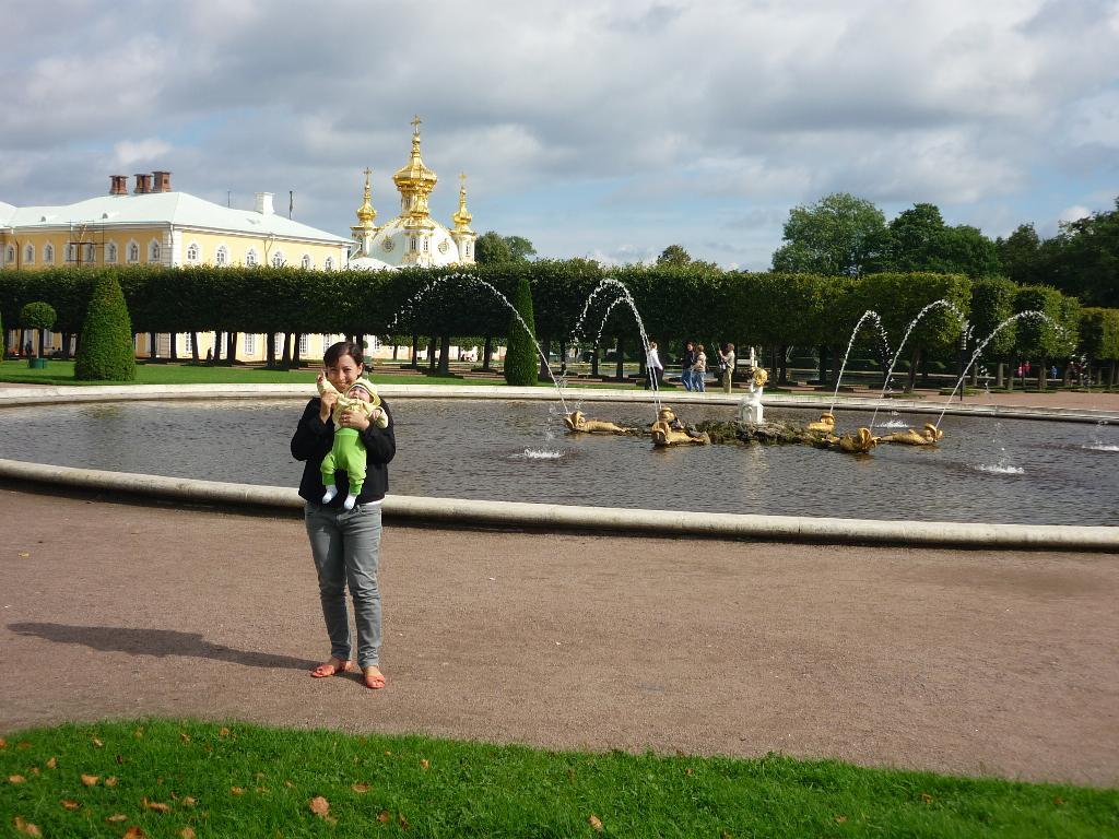 Петродворец. Город моей мечты