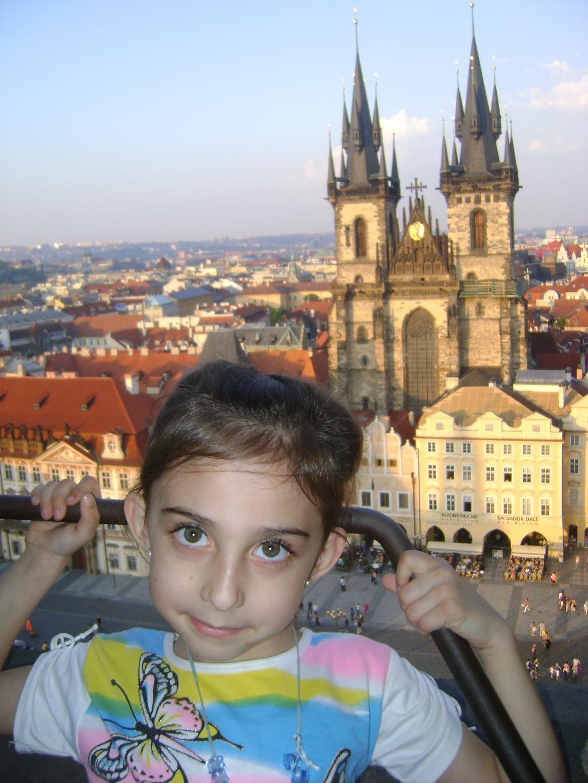 Староместкая площадь, Прага, вид с верху. Город моей мечты