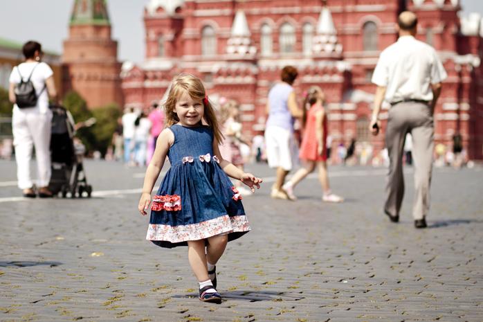 У стен Кремля. Город моей мечты