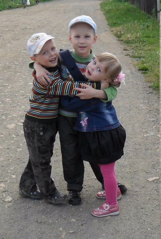 лучшие друзья - брат, сестра и я!. Настоящие друзья
