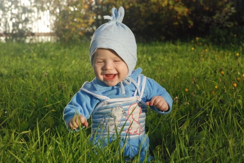Солнечный зайчик. От улыбки хмурый день светлей!