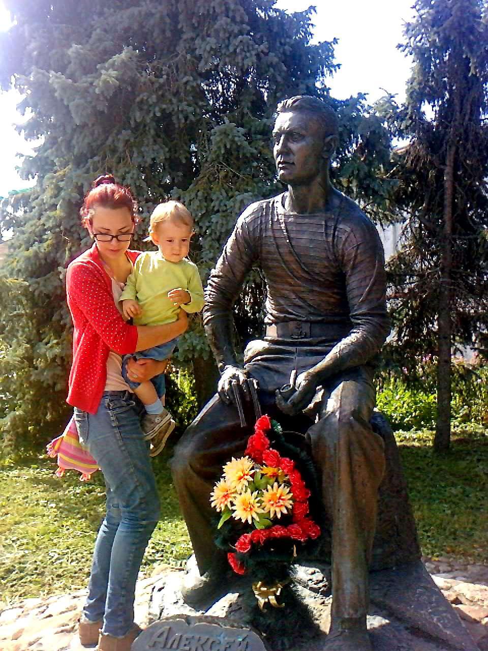 Суздаль. Памятник Алексею Лебедеву.. Город моей мечты