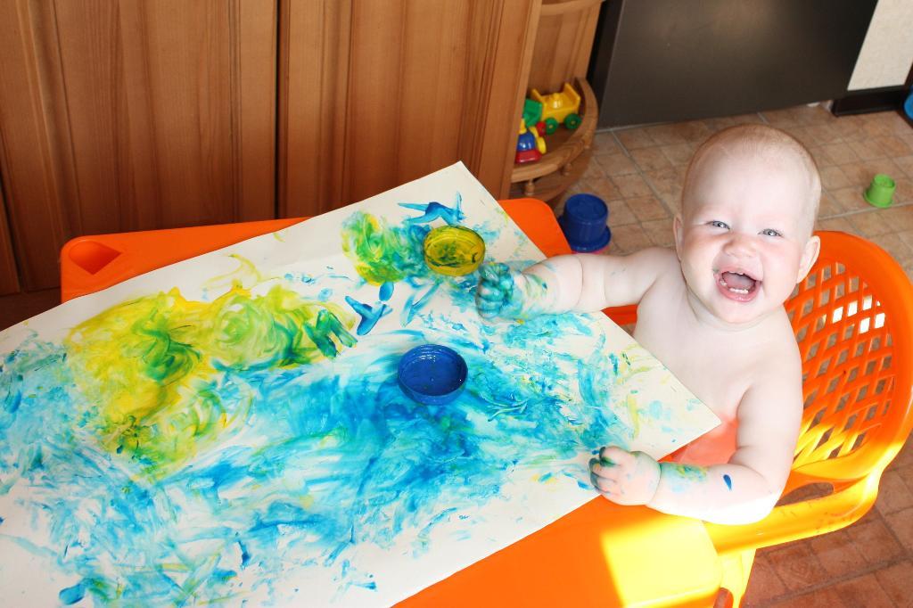 Юная художница.. Мы ищем таланты!