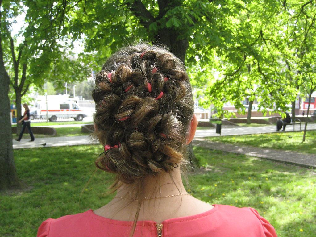Обожаю косы!!!. Шикарная прическа