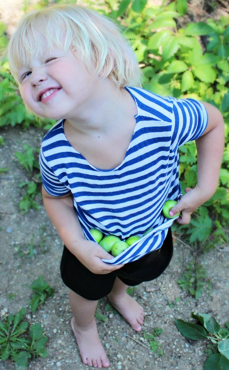 А яблочка кому???. Дары лета