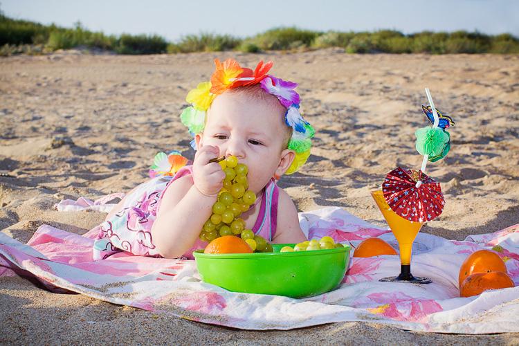 Пикник на море. Дары лета