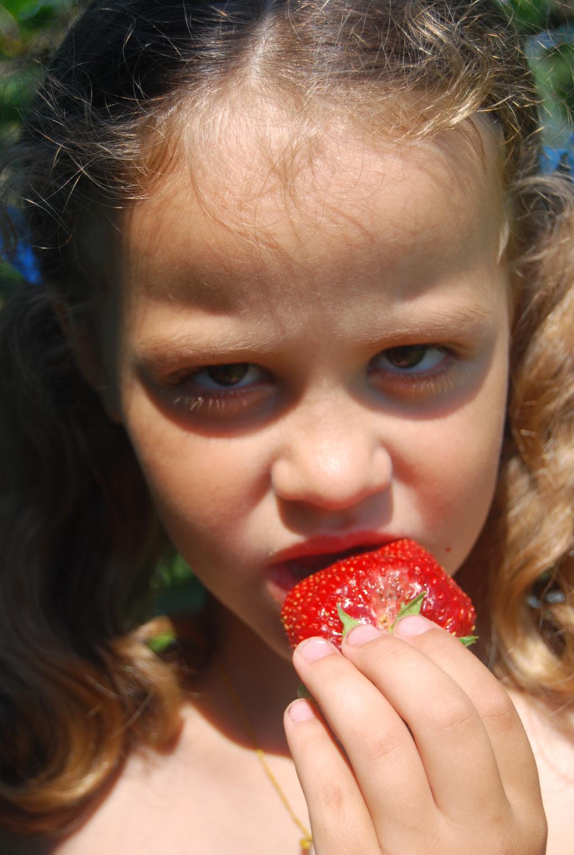 Вкусная ягодка. Дары лета