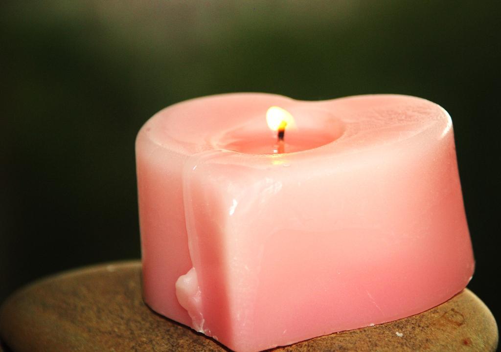Что для тебя свеча..................?. Блиц: розовое