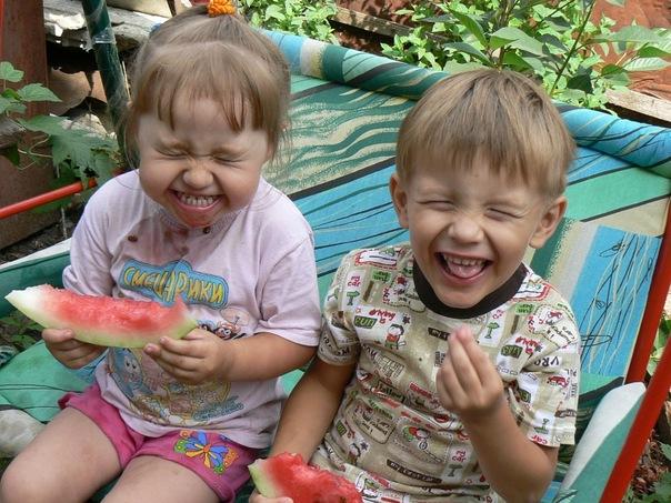 Арбузные дети!. Дары лета
