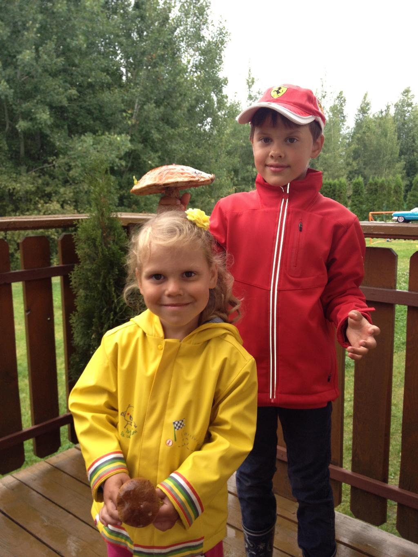 Зонтик для сестренки:). Дары лета