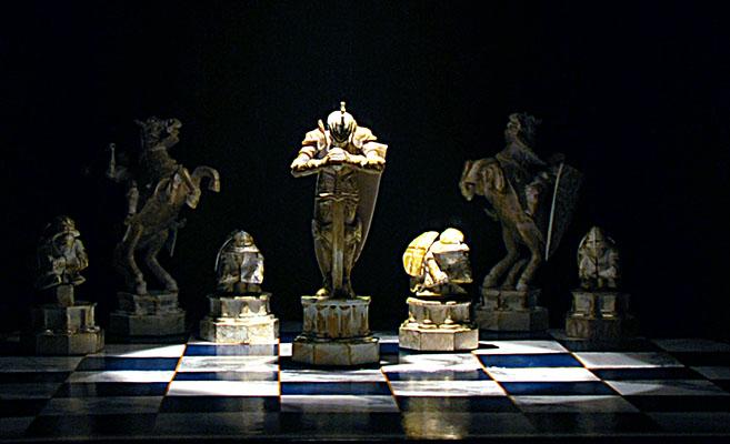 Шахматы Гарри Поттера. Блиц: клетки и квадраты