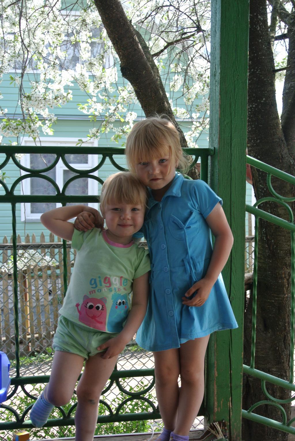 Настя и Ника. Настоящие друзья