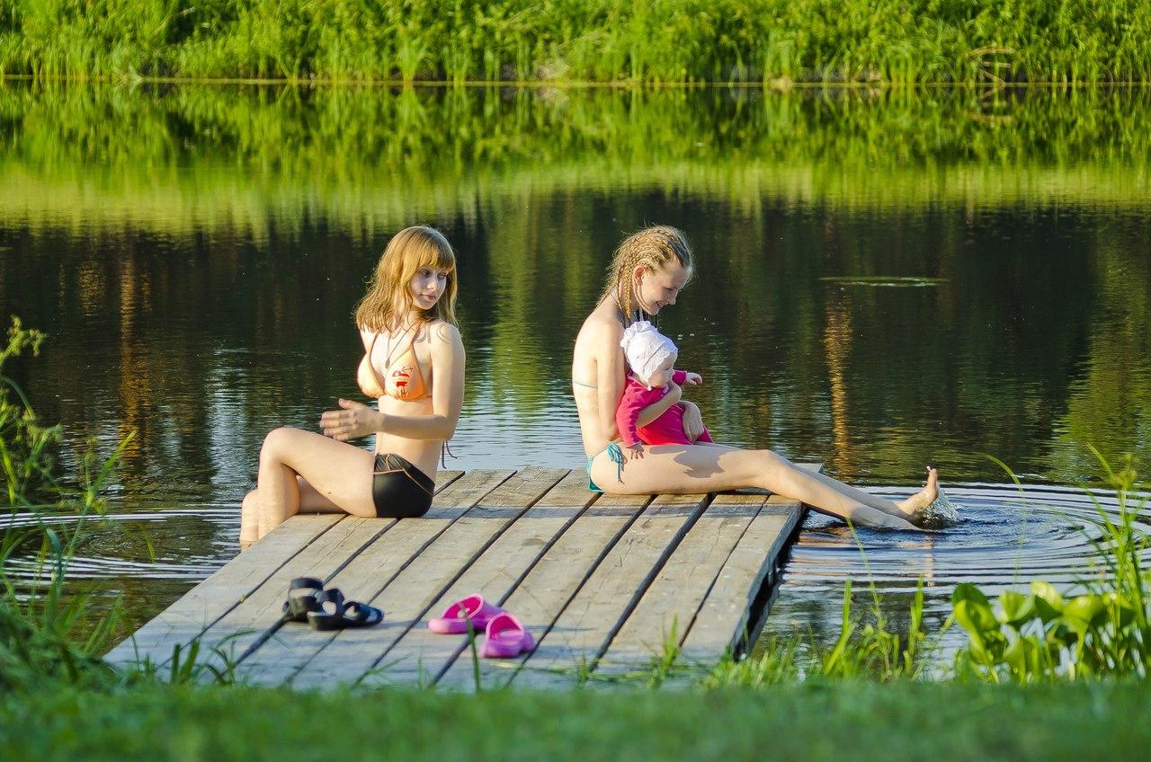 знакомство с природой летом
