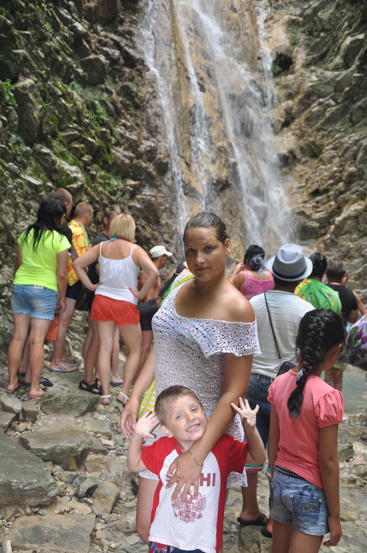 Тенгинские водопады.лето 2013. Летний образ