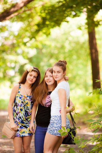 Моя племянница и ее подружки.. Летний образ