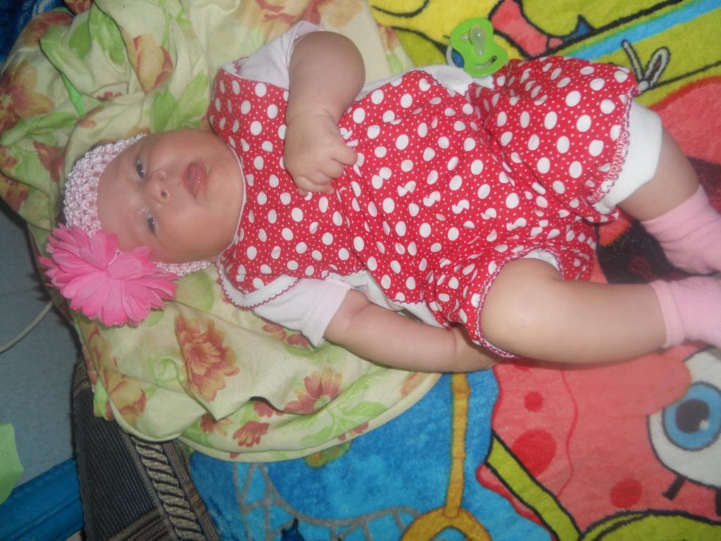 Антонина 2 месяца. Летний образ