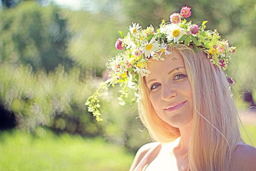Вплету я в косы лето.... Закрытое голосование фотоконкурса 'Летний образ'