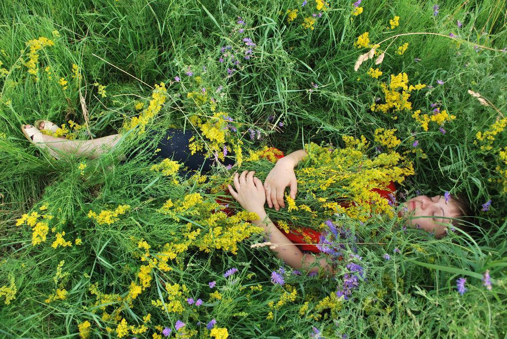 Сон в цветах. Летний образ