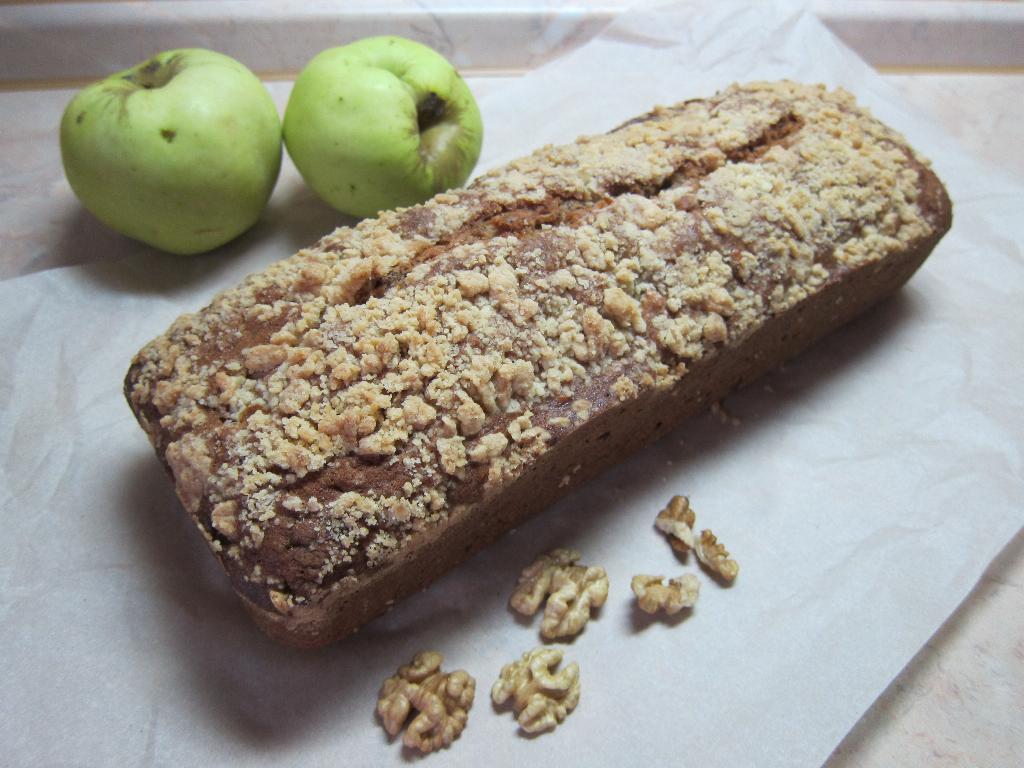 Голландский яблочный кекс. Кулинария