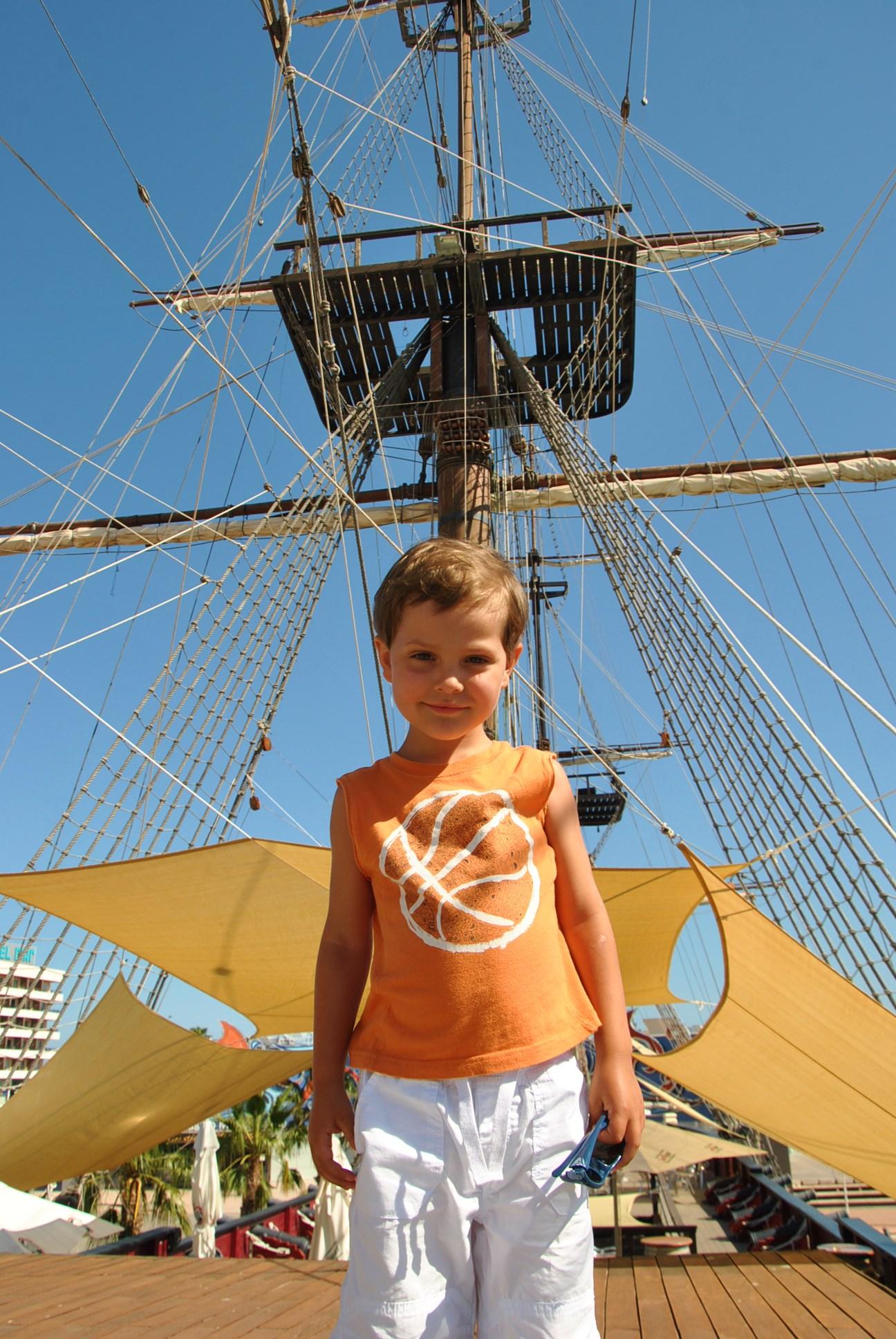 Настоящий пиратский корабль-мечты сбываются!. Юный путешественник