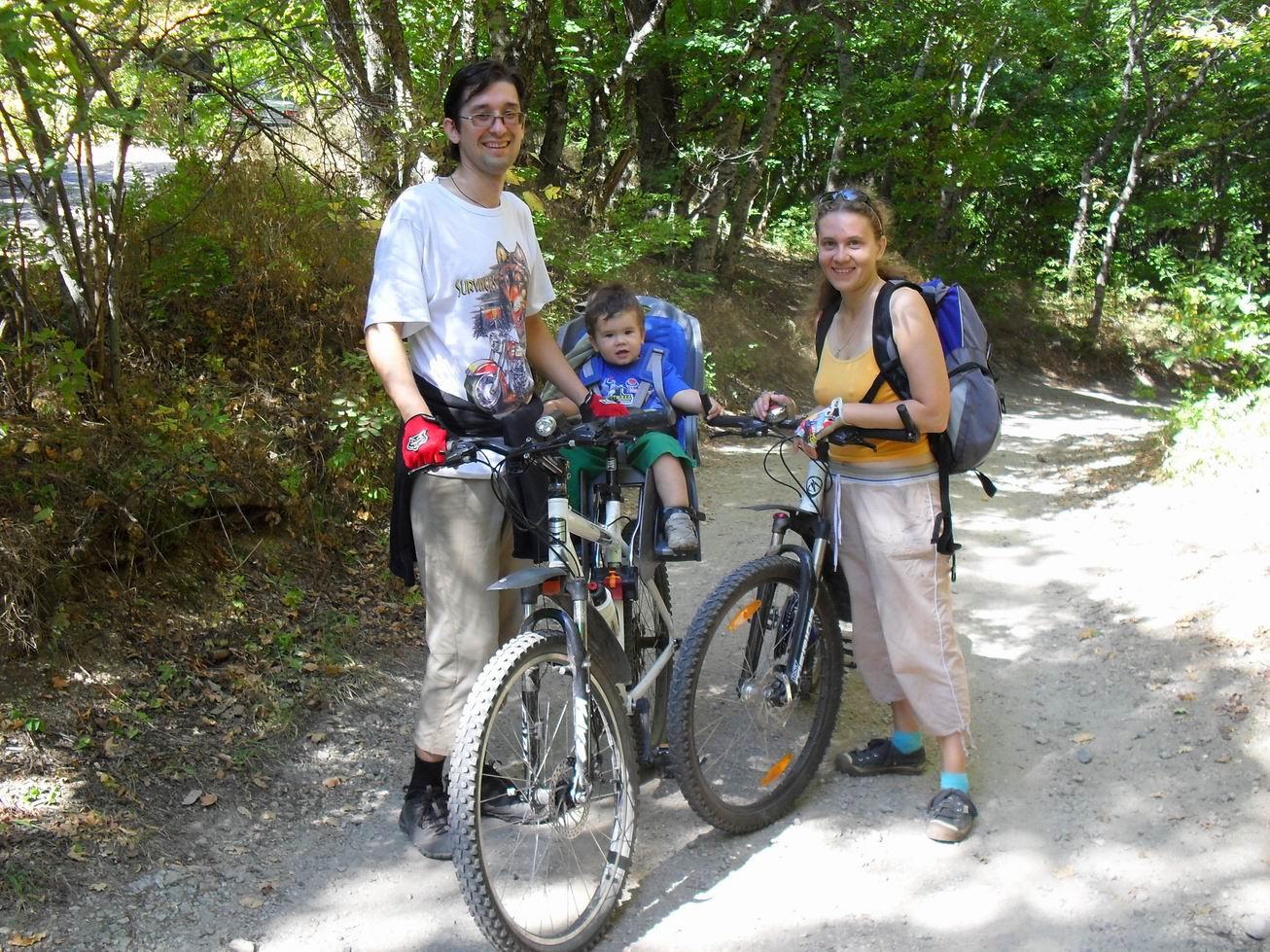 Велородители. Юный путешественник