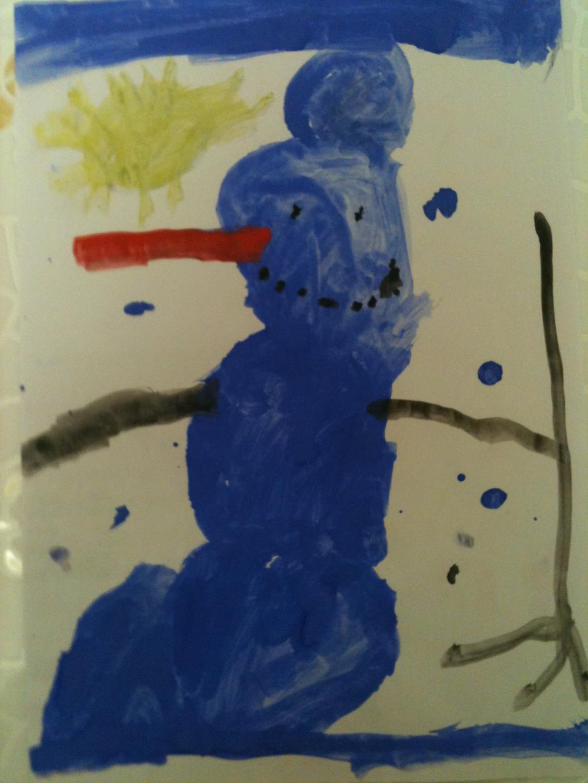 'Новогодний Снеговик'.