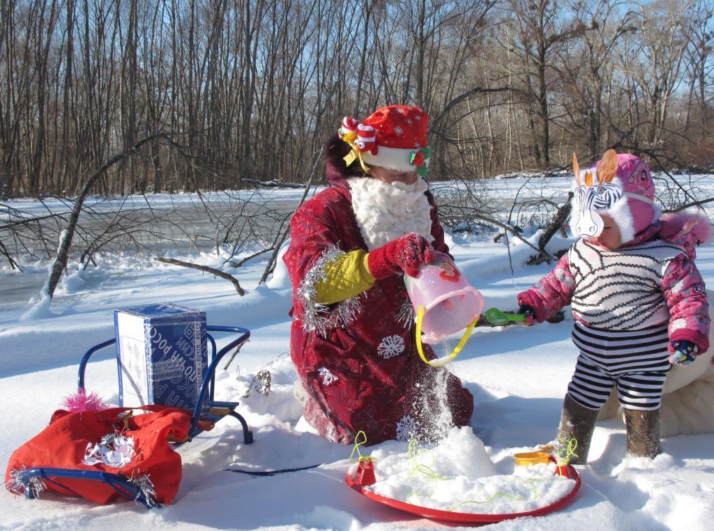 Зимние забавы. Играем все вместе!