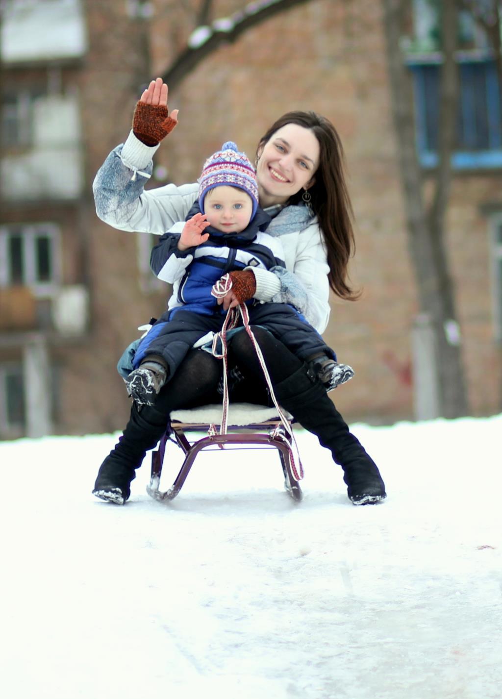 Зимние забавы :). Играем все вместе!