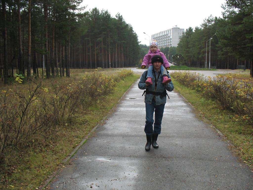 Прогулки в осеннем лесу.. Вместе весело гулять