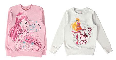 Новая коллекция детской одежды Winx