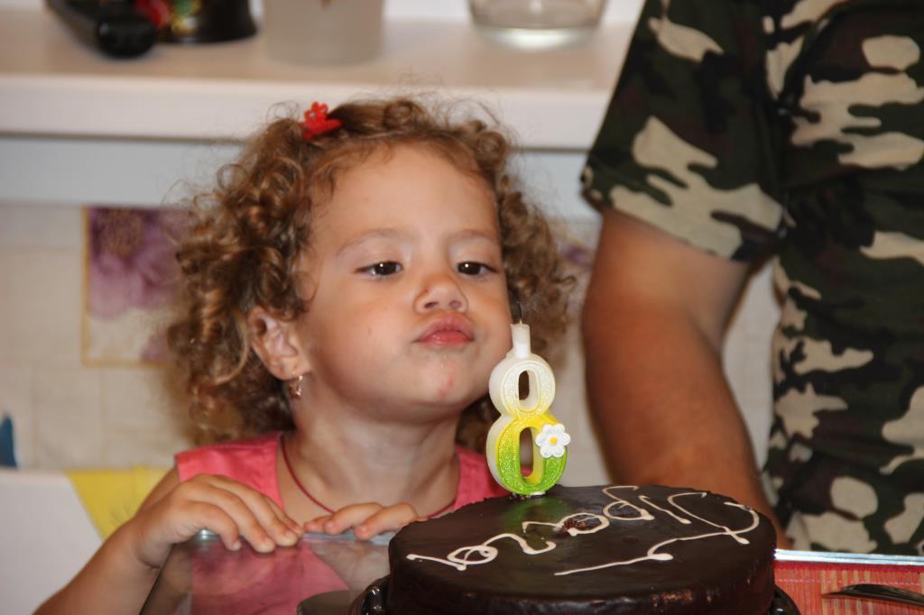 День рожденье!. Именинный пирог