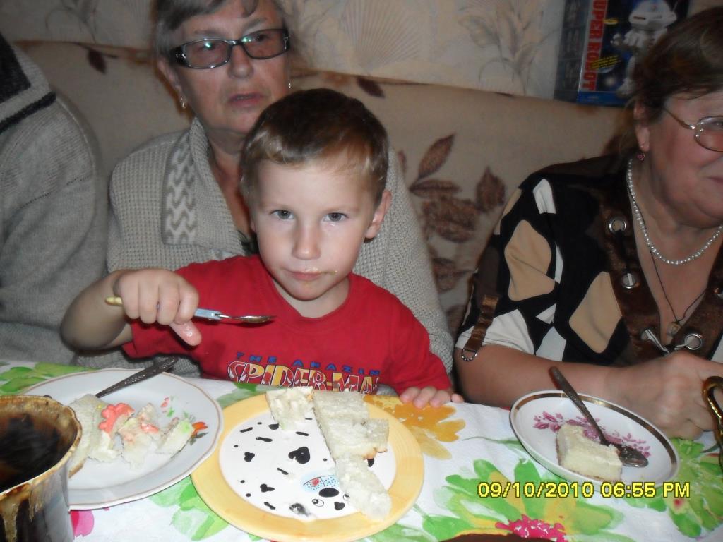 День рождения Ванечки. Именинный пирог
