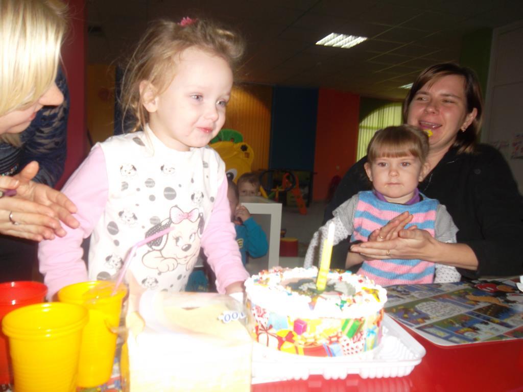 День рождения . Именинный пирог