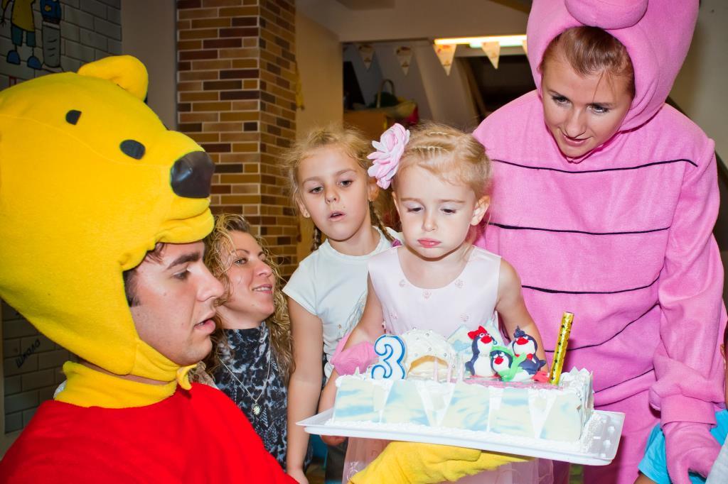 Марусе 3 года!. Именинный пирог