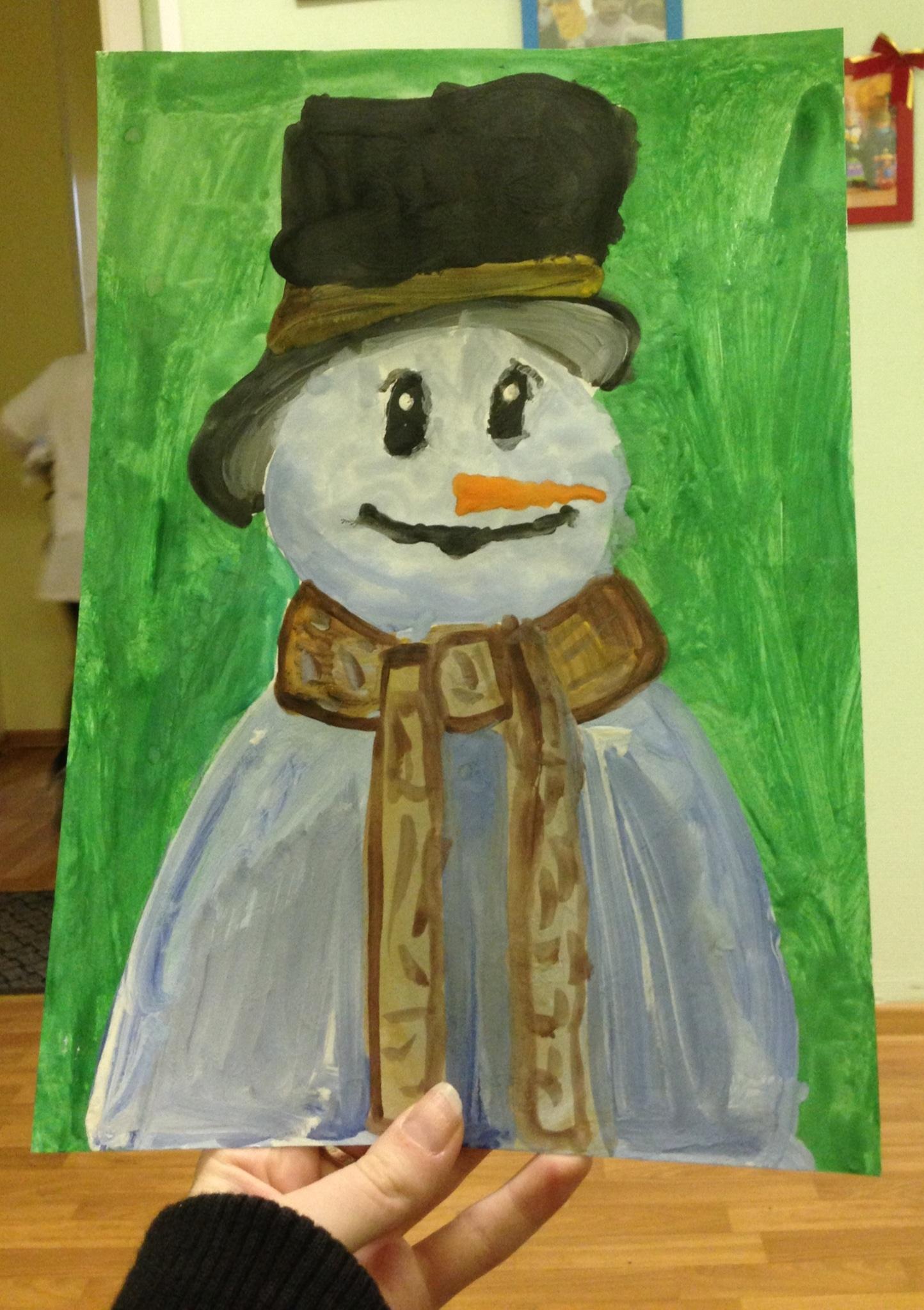 Снеговик!.