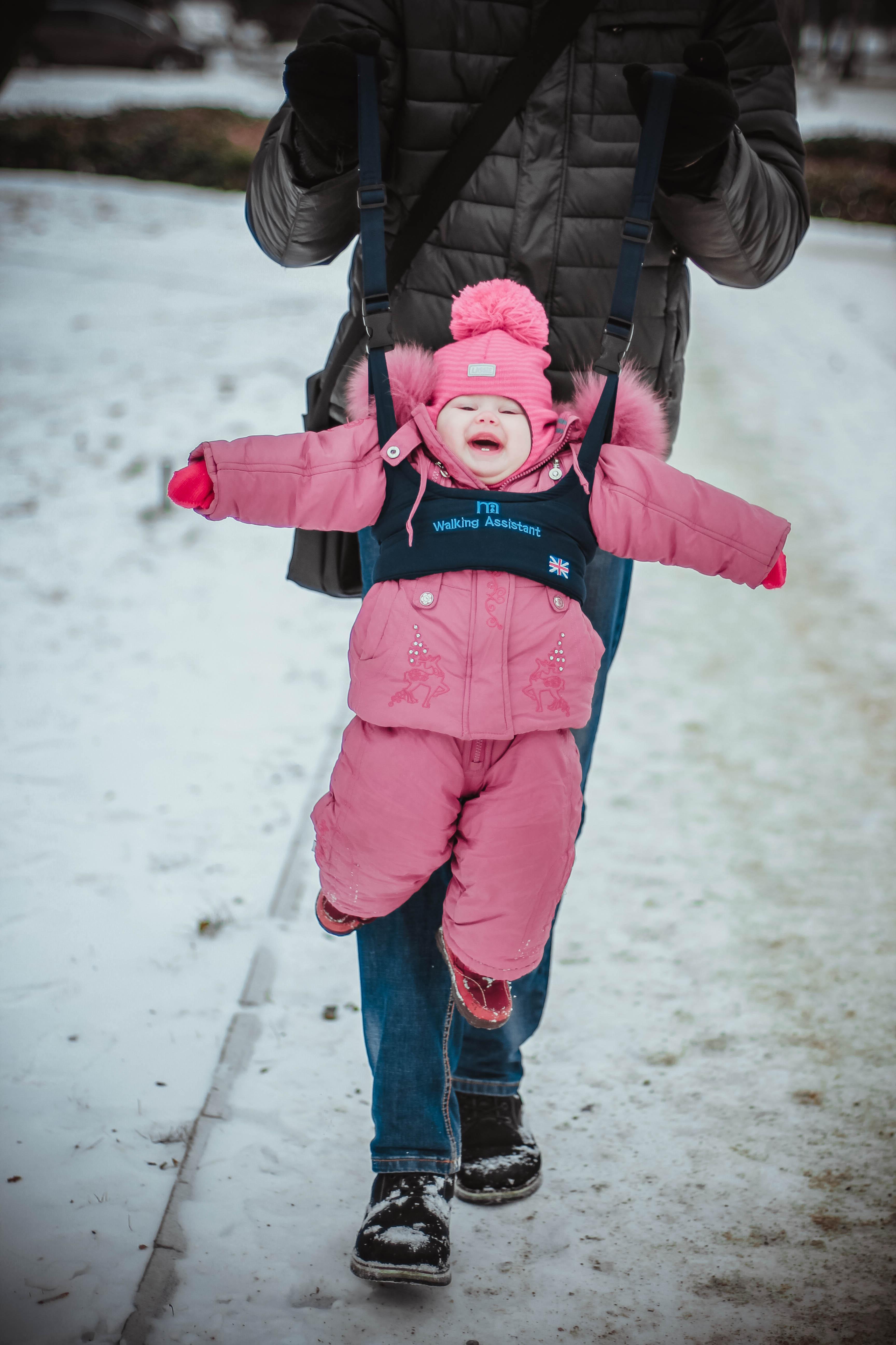 Первая зимняя прогулка!)))).