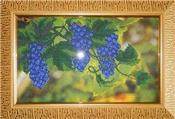 Вышивка бисером 'Виноградная лоза'. Вышивка бисером