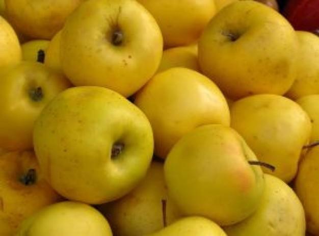 сочные аппетитные яблочки!. Блиц: желтое