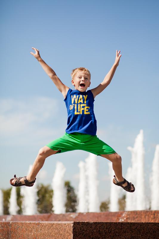 Весело летать!. Яркие дети