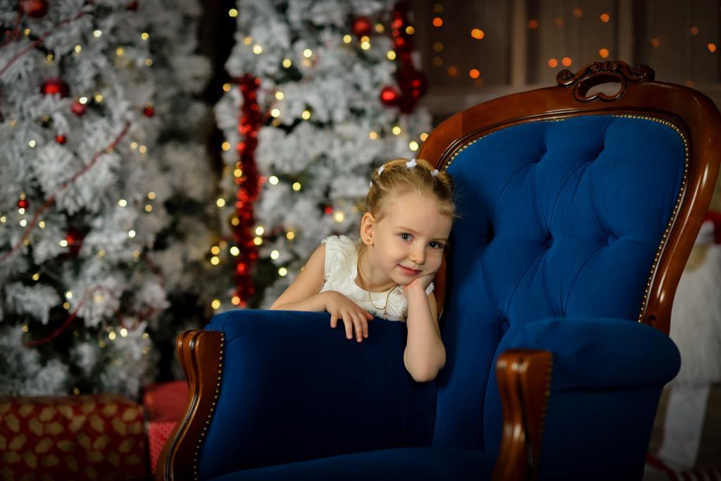 В ожидании Деда Мороза. Наш Новый год!