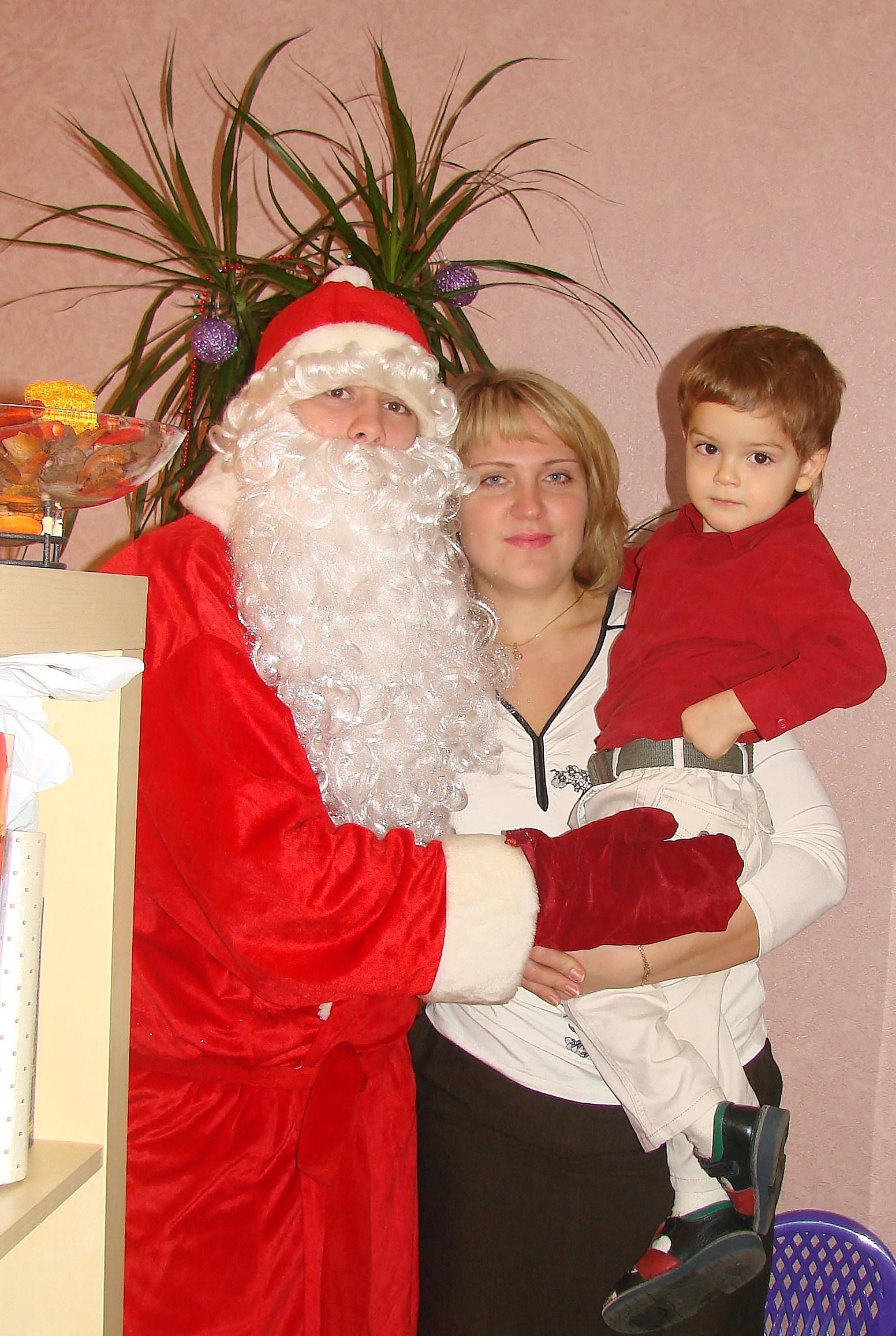 наш юный Новый год -большой помощник Дед Мороза. Наш Новый год!