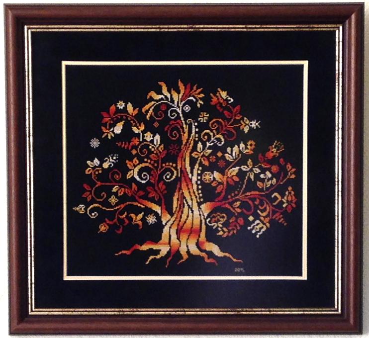 Дерево Madre Terra. Растения (в основном цветы)