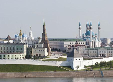 Столица Татарстана, город Казань