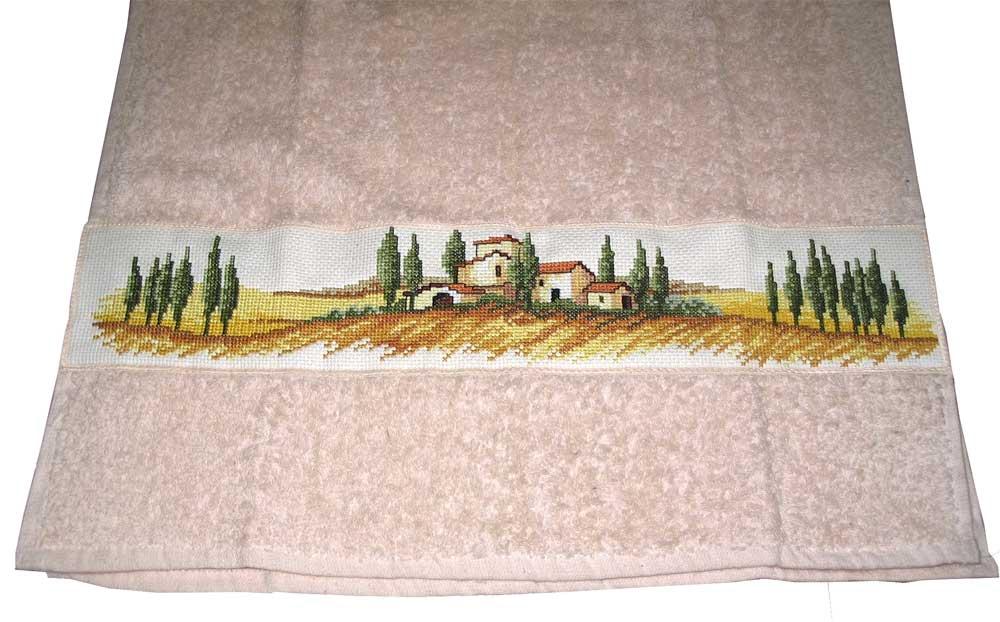Полотенце 'Поля Тосканы'. Пейзажи