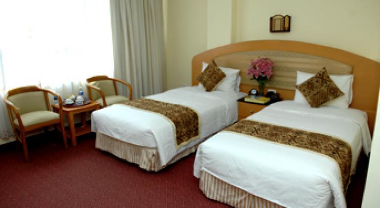 Oasis Hotel.