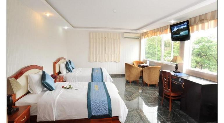 Hoa Binh Hotel.