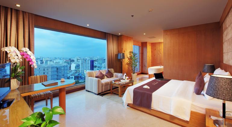 Edenstar Saigon Hotel.