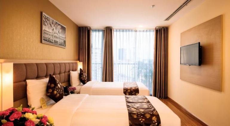 GK Central Hotel.